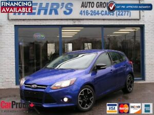 2014 Ford Focus SE Hatch back Bluetooth Financing Avail No Accid