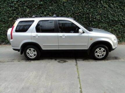 2003 Honda CR-V RD MY2003 Sport 4WD Silver 4 Speed Automatic Wagon Collingwood Yarra Area Preview