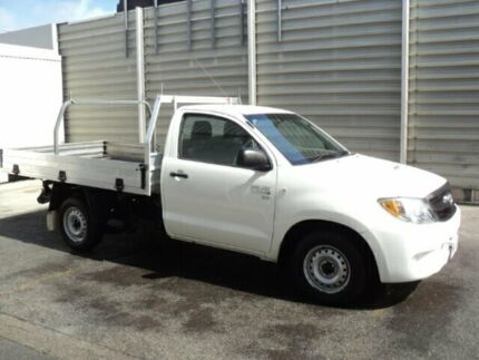 2007 Toyota Hilux KUN16R 07 Upgrade SR White 5 Speed Manual Dual Cab Pick-up Edwardstown Marion Area Preview