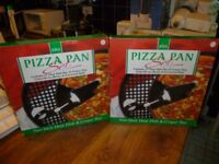 Pizza Pan Set and Pizza Baking Stone