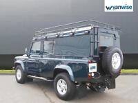 2014 Land Rover Defender 110 TD XS UTILITY WAGON Diesel green Manual