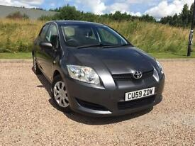 Toyota Auris 1.33 VVT-i TR 2009 59 *ONLY 30,200 GENUINE MILES FROM NEW*