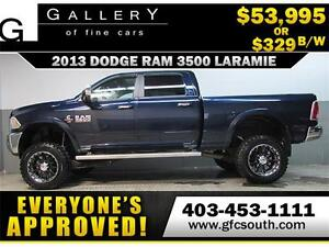 2013 RAM 3500 DIESEL LIFTED *EVERYONE APPROVED* $0 DOWN $329/BW!