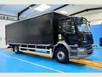DAF LF 55.220 Curtainside, Euro 5, 4x2 axle air suspension, 5.85m wheelbase