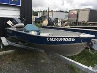 2009 BOAT PACKAGE! SIMPLE FISHING BOAT ! 9.9 HP YAMAHA Timmins Ontario Preview