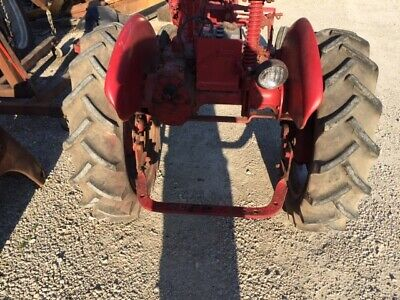 Farmall Cub Or Low Boy Tractor X 24 24 Firestone Tread 85 Tires Ih Rims