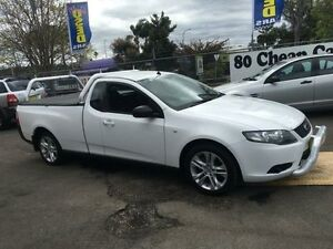 2009 Ford Falcon FG (LPG) White 4 Speed Auto Seq Sportshift Utility Campbelltown Campbelltown Area Preview