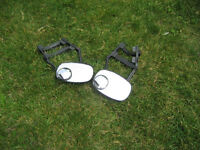towing mirrors . Strap on. Size 7.5x5 inches. $10 /each mirror .