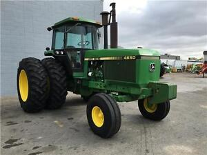 JOHN DEERE 4650 TRACTOR W/DUALS GIVE US AN OFFER (NEEDS TO GO)