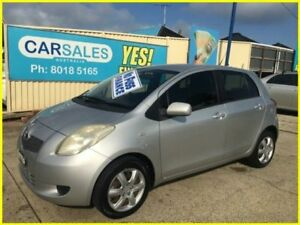 2008 Toyota Yaris NCP91R YRS Silver 5 Speed Manual Hatchback Kogarah Rockdale Area Preview