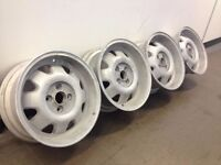 "ATS CUP 4X100, 15"", 7J. Deep dish alloy wheels, Made in Germany, not brabus, borbet"
