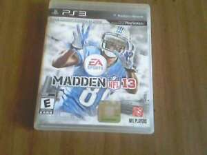 Madden NFL 13 For Sony Play Station 3