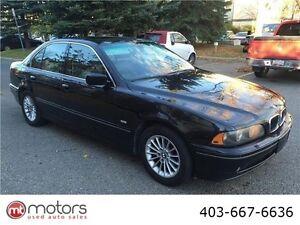 2002 BMW 5 Series 540iA V8 4.4 l BLACK ON BLACK