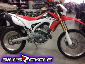 2014 HONDA CRF 250 LE   Dual Red White