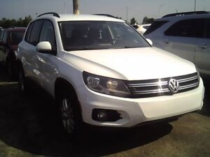 2014 TIGUAN WHITE MAGS 1 OWNER ***A1 CONDITION*** ONLY 12495$$$