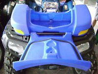 FRONT LUGGAGE BOX BLUE