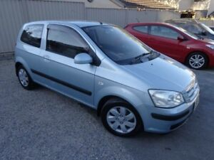 2003 Hyundai Getz TB GL Silver 5 Speed Manual Hatchback Sylvania Sutherland Area Preview