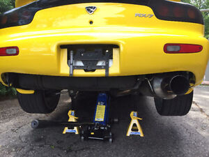 92-02 RX-7 EXHAUST KSP ENGINEERING ..CAT BACK WITH RESIGNATOR