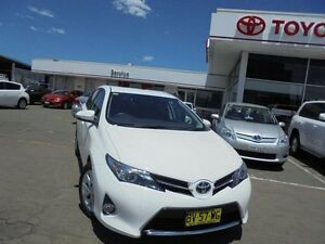 2013 Toyota Corolla ZRE182R Ascent Sport Glacier White 7 Speed CVT Auto Sequential Hatchback Belmore Canterbury Area Preview