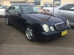 2001 Mercedes-Benz CLK230 Kompressor Elegance Blue 5 Speed Automatic Coupe Kooragang Newcastle Area Preview