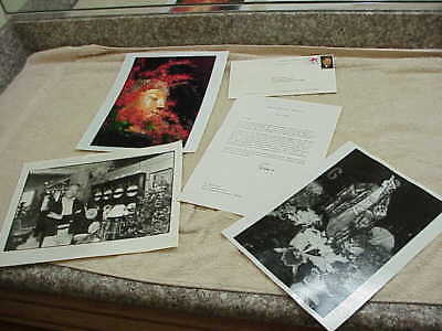#196 SIGNED LETTER BY NANCY REAGAN TOM BROKAW FLORIST DAVID JONES 2008
