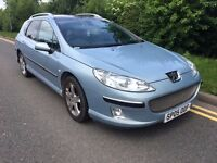2005 Peugeot 407 2.0 Hdi Turbo diesel station wagon Estate Great condition