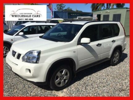 2009 Nissan X-Trail T31 ST (4x4) White 6 Speed Manual Wagon Jewells Lake Macquarie Area Preview