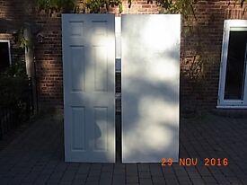 internal doors x 2 free camberley oak 2 door
