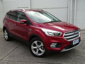 2018 Ford Escape ZG 2018.00MY Trend PwrShift AWD Red 6 Speed Sports Automatic Dual Clutch Wagon Bundoora Banyule Area Preview