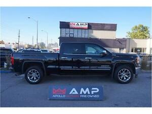 "2014 GMC Sierra 1500 SLT NAVI Roof Chrome 20"" ac seats cover etc"