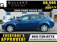2009 Ford Focus SEL $89 bi-weekly APPLY TODAY DRIVE TODAY
