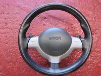 MCC Smart Roadster Fortwo 698cc paddleshift steering wheel