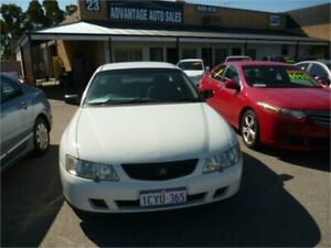 2003 Holden Commodore VY II White 5 Speed Manual Utility