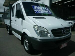 2010 Mercedes-Benz Sprinter NCV3 MY10 316CDI MWB White 5 Speed Automatic Cab Chassis Edwardstown Marion Area Preview