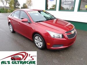 2012 Chevrolet Cruze LT Turbo only $117 bi-weekly all in!
