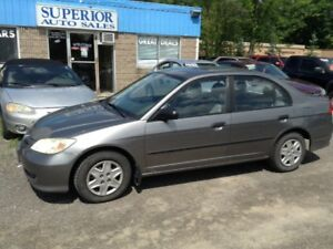 2004 Honda Civic Sdn SE Fully Certified! No Accidents!