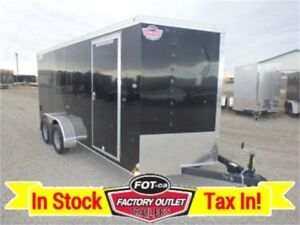 "7 X 16 by Haulmark *78"" Interior Height, Ramp Door* ~ TAX INCL.."