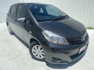 2013 Toyota Yaris NCP130R YR Grey 5 Speed Manual Hatchback Mundingburra Townsville City Preview