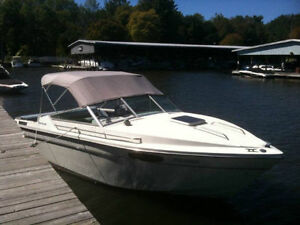 1987 21ft 165 HP MERCRUISER PROWLER with Cuddy Cabin