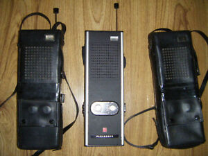 2 Vintage Panasonic Walkie Talkies for sale