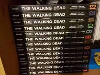 The Walking Dead Hardcover comics