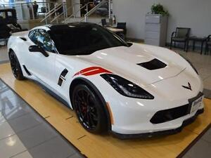 NEW 2017 Chevrolet Corvette Grand Sport 3LT white