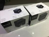 Sony ICF-C1B Cube Clock Radio - Black - Both for £30