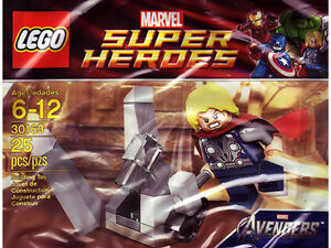 Lego Marvel super heroes 2012 # 30163 new in seal bag