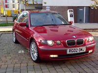 2002 BMW 325i 2.5 TI Compact 2Dr Manual E46 325 not(E30, E36, E39, E62, E92)