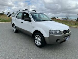 2008 Ford Territory SY MY07 Upgrade TX (RWD) White 4 Speed Auto Seq Sportshift Wagon Wangara Wanneroo Area Preview