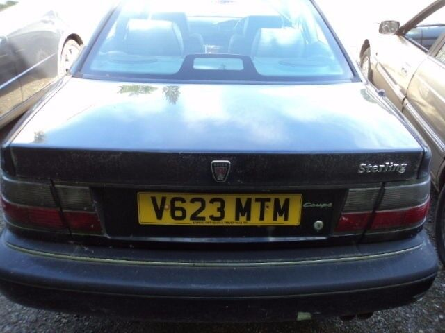 ROVER 825 STERLING 2.5 AUTO COUPE BLUE DRIVERS DOOR*breaking for spares*