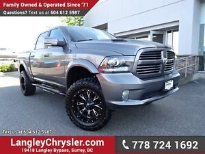 "2013 RAM 1500 Sport W/ 4X4, 6"" BDS LIFT & 35"" TOYO OPEN COUNT..."