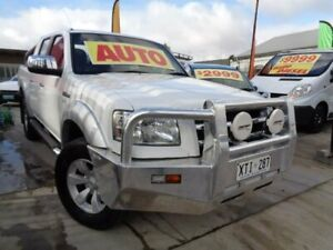 2008 Ford Ranger PJ XLT Super Cab White 5 Speed Automatic Utility Enfield Port Adelaide Area Preview