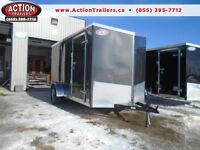 GET THE BEST DEAL WITH ACTION TRAILERS 6X12' ENCLOSED CARGO 2016
